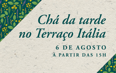 Chá Beneficente no Terraço Itália