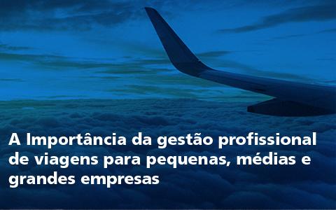 A Importância da gestão profissional de viagens para pequenas, médias e grandes empresas
