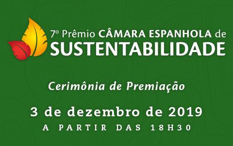 7º Prêmio Câmara Espanhola de Sustentabilidade