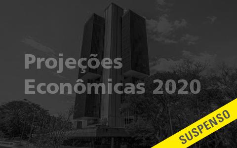 Projeções Econômicas 2020 com Banco Central