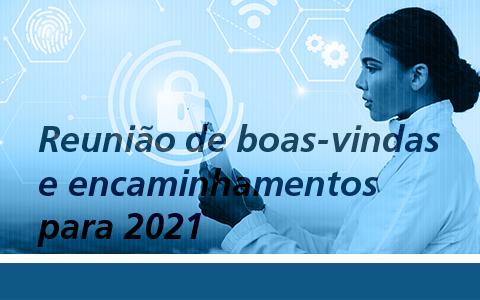 Comitê de Tecnologia | Reunião de Boas-vindas e encaminhamentos para 2021